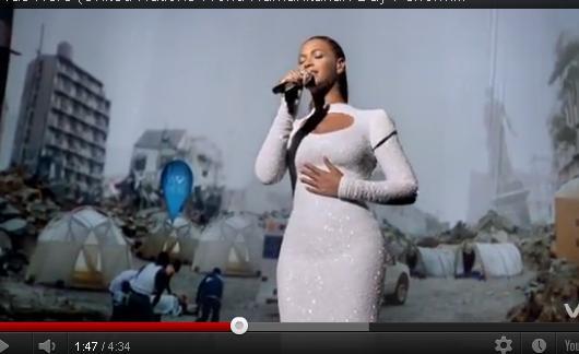 Beyonce canta la ONU