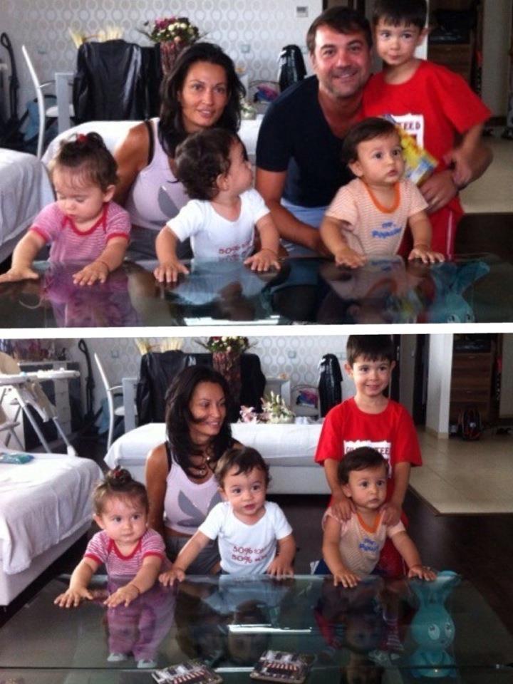 Nicoleta Luciu si copii