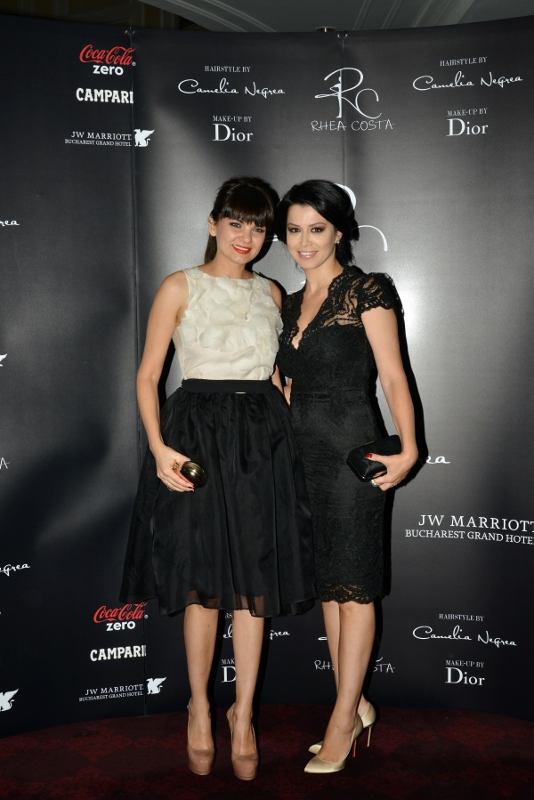 Malvina Cservenschi si Simona Patruleasa