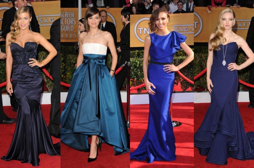 colaj rochii albastre