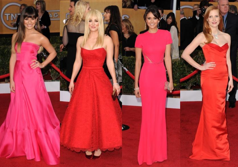 colaj rochii rosii