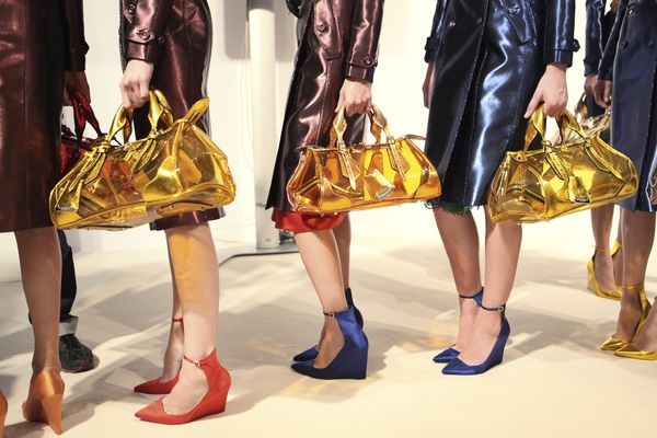 Backstage at the Burberry Prorsum Womenswear Spring_Summer 2013 Show(17)
