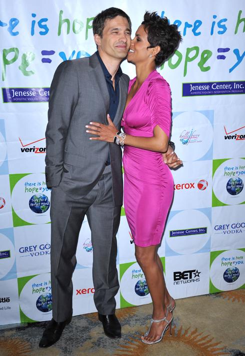 Halle Berry si Olivier Martinez