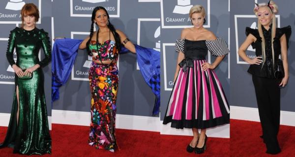 tinute extravagante Grammy