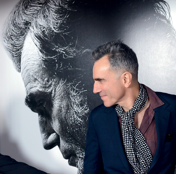 "Daniel Day-Lewis attends the ""Lincoln"" premiere in Los Angeles"