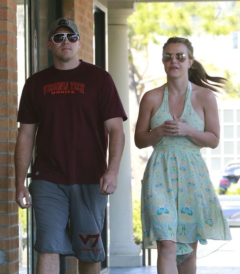 Britney Spears Out And About With Her New Boyrfriend