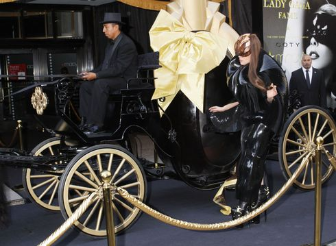 Lady Gaga Launches New 'Fame' Perfume