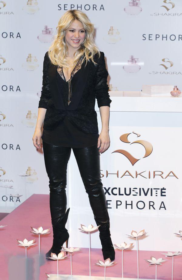 Présentation de la nouvelle fragrance de Shakira chez Sephora a Paris