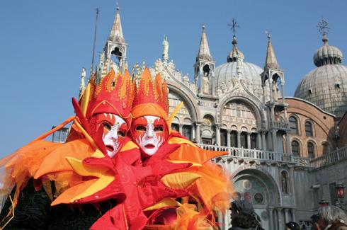 Italy, Veneto, Venice, carnival, mask