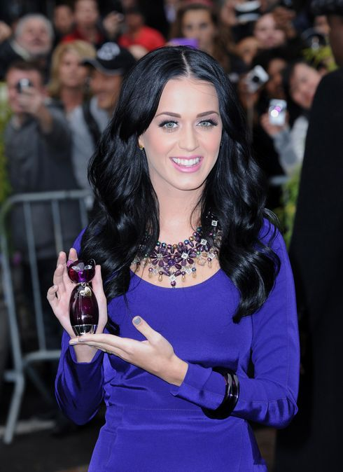 """Katy Perry Launches Her Scent """"Purr"""" In New York City"""