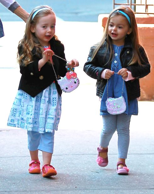 Sarah Jessica Parker and her darling daughters in the Big Apple