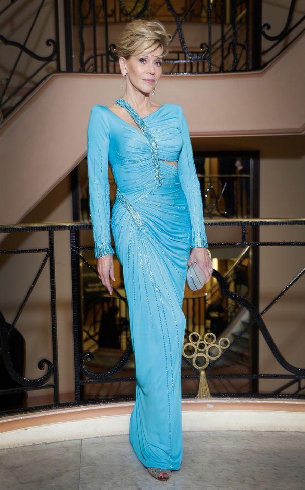 Exclusive - Jane Fonda posing at Martinez Hotel - 66th Cannes Film Festival