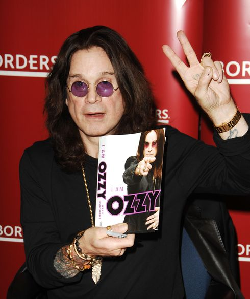 I am Ozzy book signing at Borders Las vegas