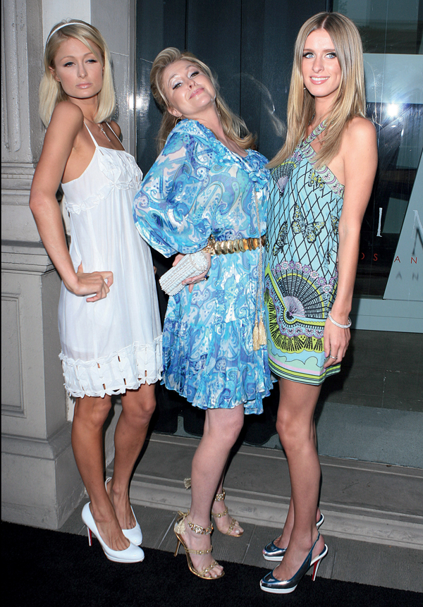 """Paris Hilton, Kathy Hilton and Nicky Hilton attends """"The Good Life"""" The Photographs Of Slim Aarons And Murray Garrett"""