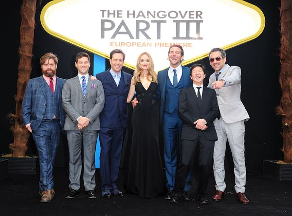 The Hangover Part 3 European Premiere - London
