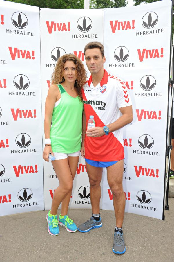 Carmen Bruma si Mircea Badea