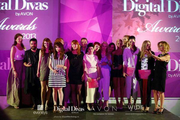 Castigatorii Digital Divas Awards
