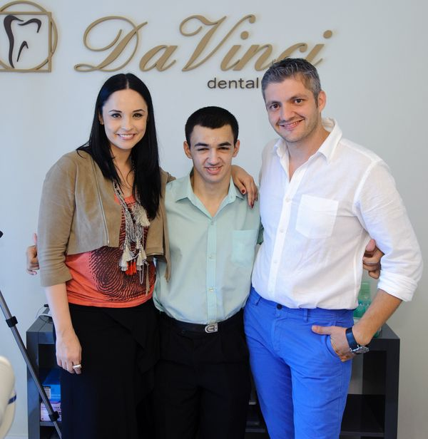 Dr Adrian Mina, Andreea Marin, Iulian 2