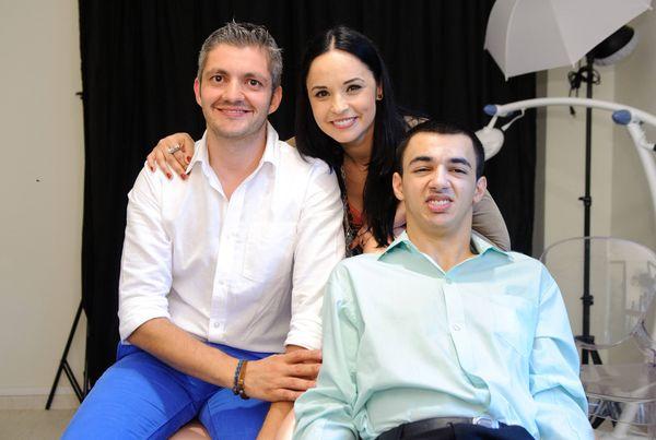 Dr Adrian Mina, Andreea Marin, Iulian
