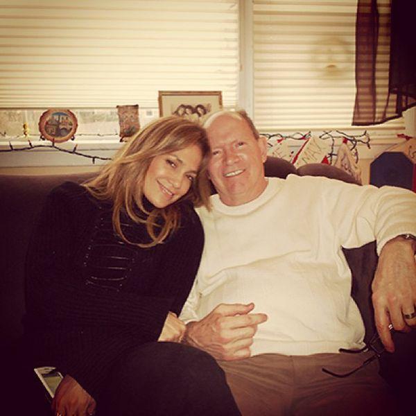 Jennifer Lopez fathers day