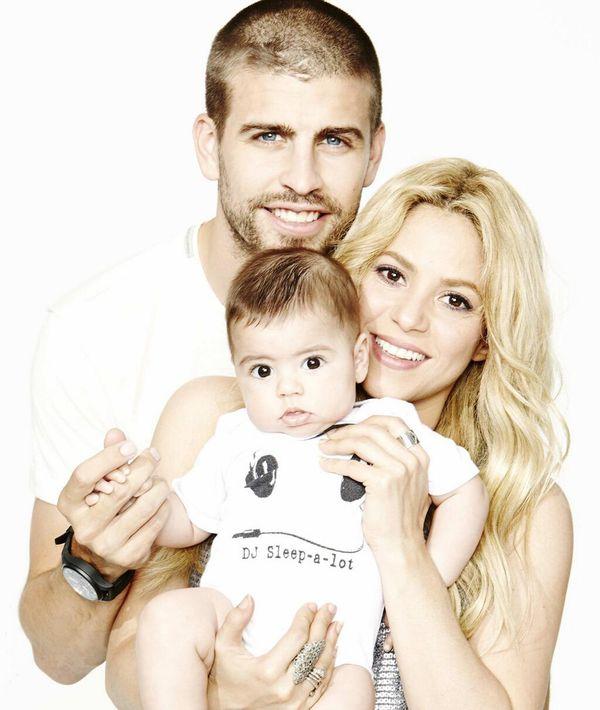 Shakira fathers day