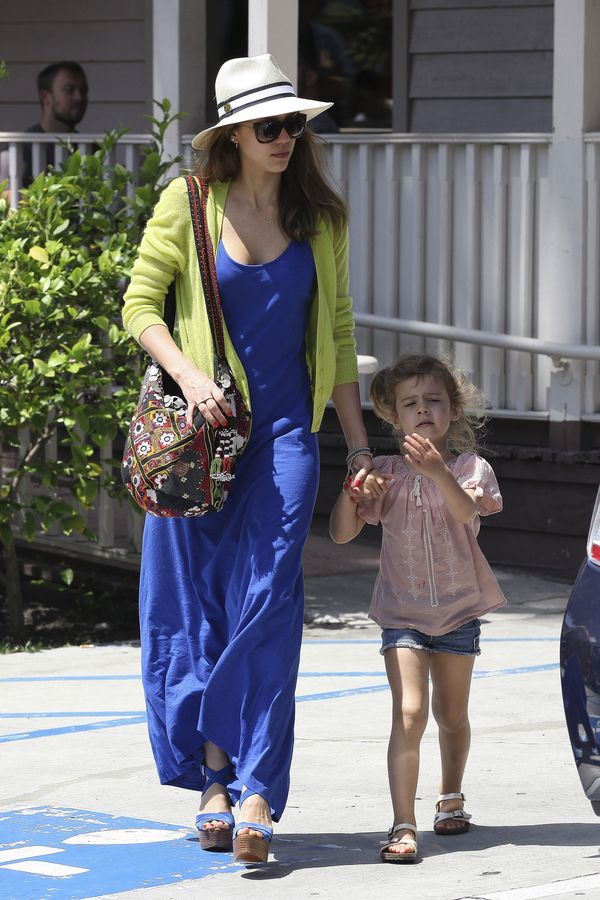 Jessica Alba And The Family Spotted In West Hollywood