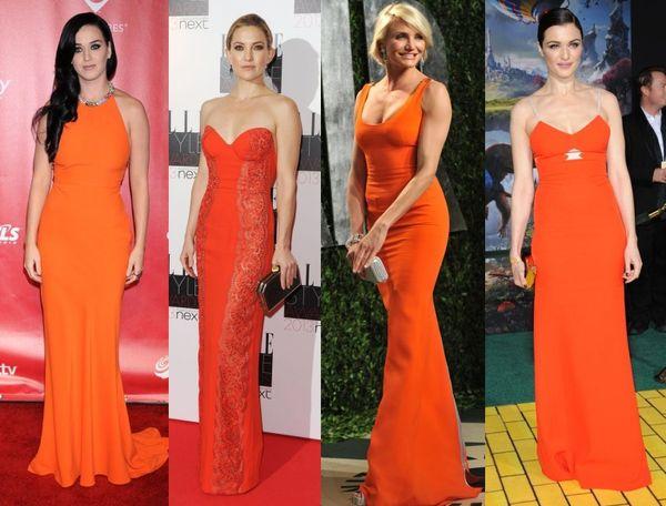 rochia sirena portocalie