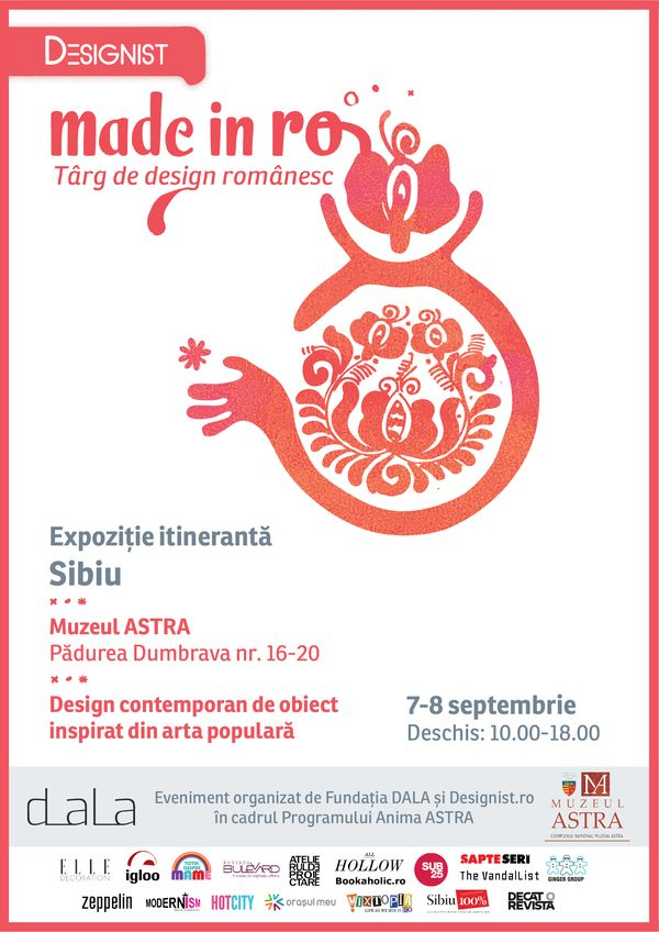 Afis Made in RO SIBIU 7-8 septembrie