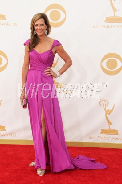 Allison Janney wears Lorena Sarbu - Emmy Awards