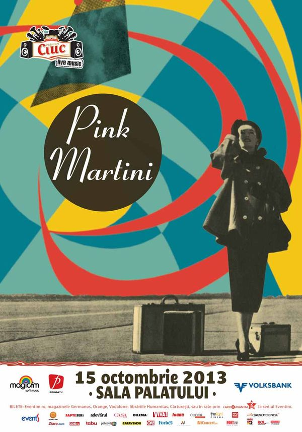 Poster Pink Martini 2013