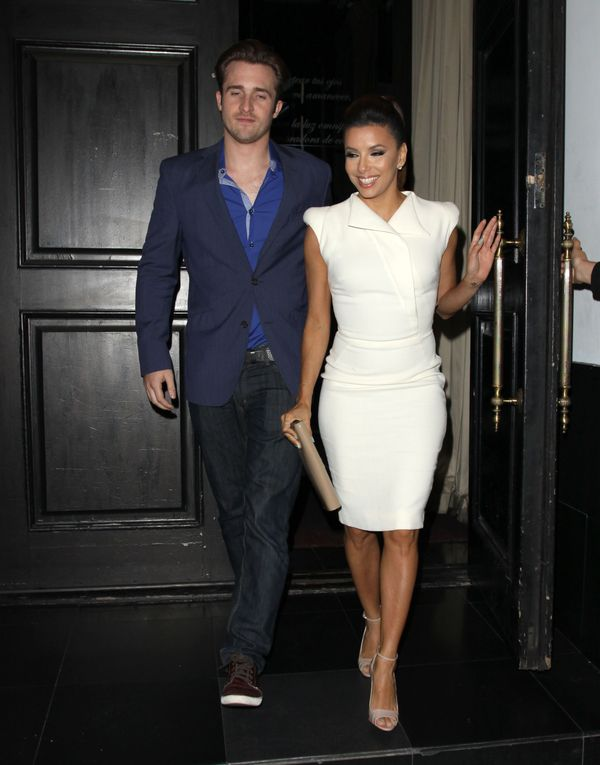 Eva Longoria Dines Out With Ernesto Arguello & Matthew Hussey