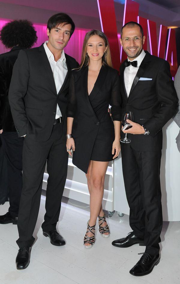 Adela Popescu, Radu Valcan si Andrei Nourescu