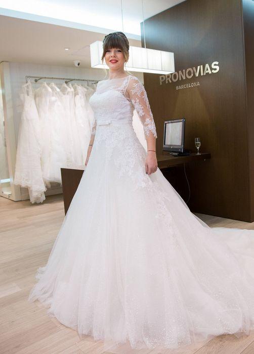 Bianca Ionita rochie mireasa Pronovias