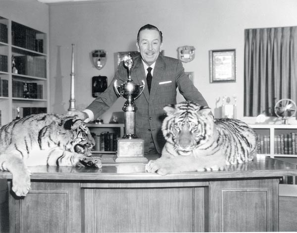 Walt Disney circa 1955