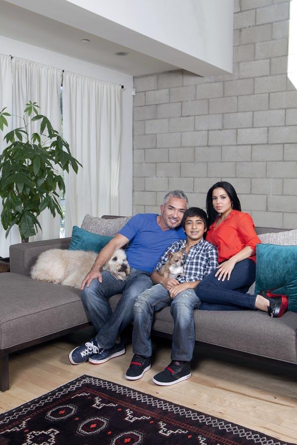 Cesar Millan at Home