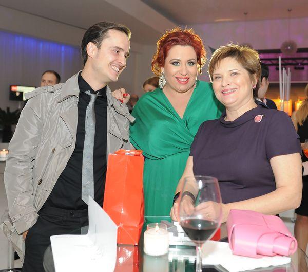 Serban Copot, Oana Roman si Cristina Stanciulescu (Ringier)