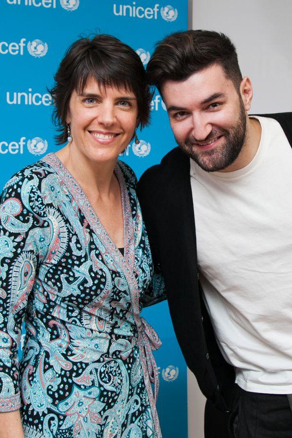 UNICEF - Smiley si Sandie Blanchet 3
