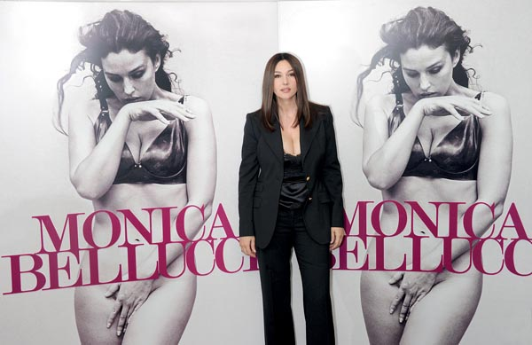 Monica Bellucci presents the book 'Monica Bellucci' - Rome