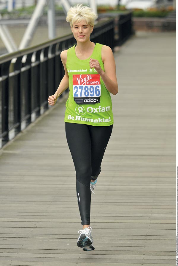 Virgin London Marathon photocall