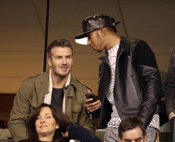 David Beckham si Lewis... Gwyneth Paltrow