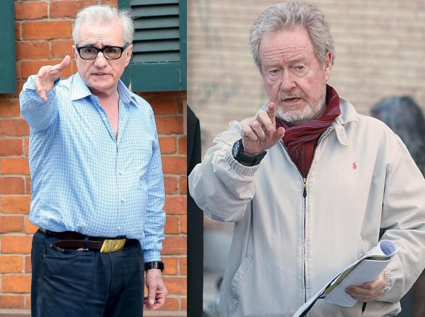 Martin Scorsese si Ridley Scott