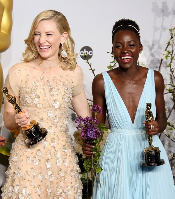 Cate Blanchett si Lupita Nyong'o