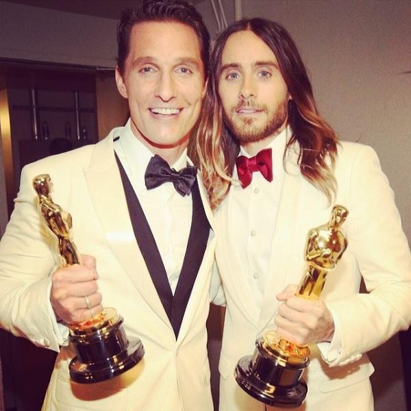Matthew McConaughey si Jared Leto