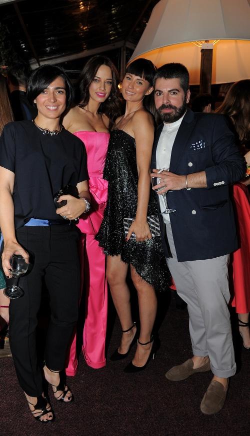 Domnica Margescu, Andreea Raicu, Roxana Voloseniuc si Maurice Munteanu