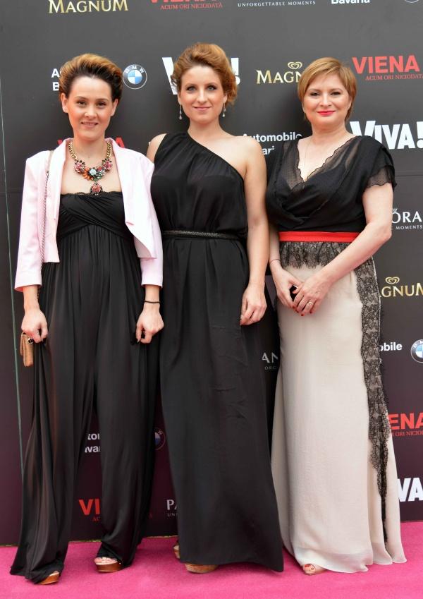 Iulia Danoiu, Daciana Rudan si Cristina Stanciulescu