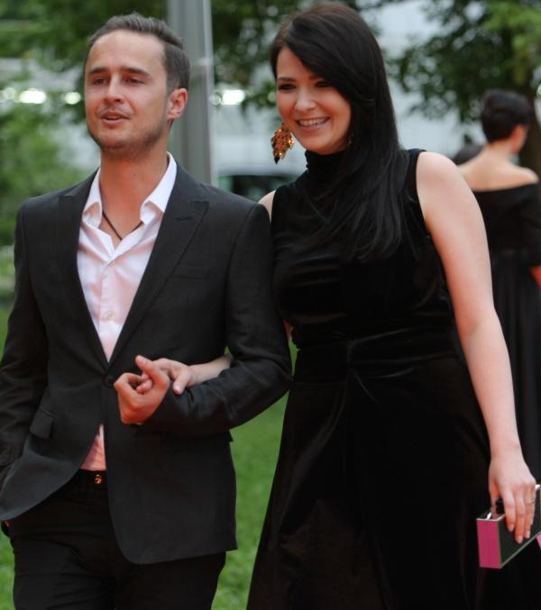 Serban Copot si iubita lui, Roxana