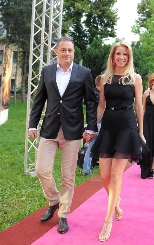 Sonia Argint Ionescu si sotul ei, Horatiu