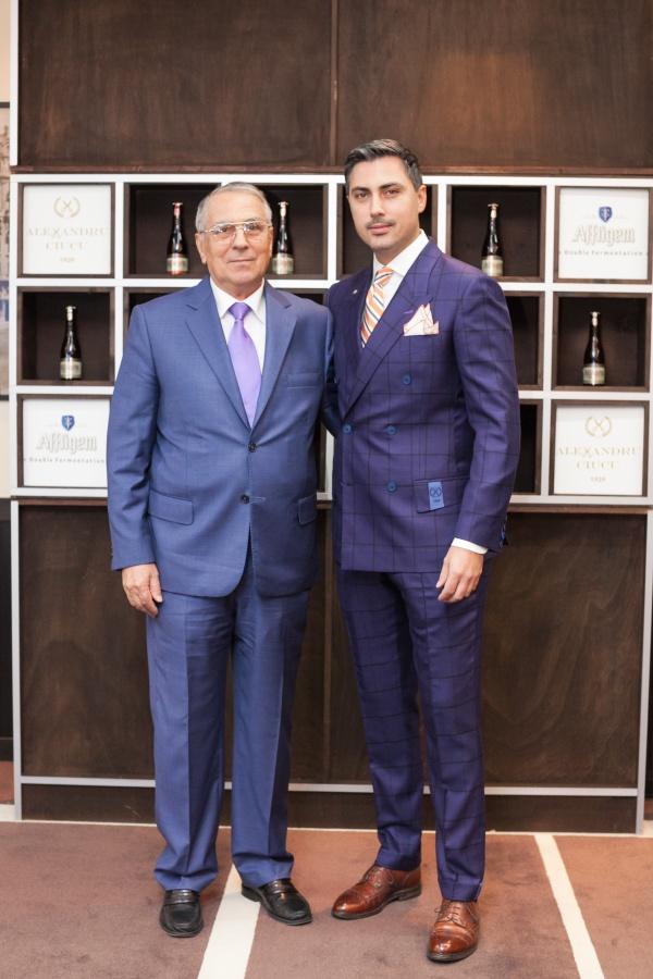 Alexandru Ciucu si tatal lui