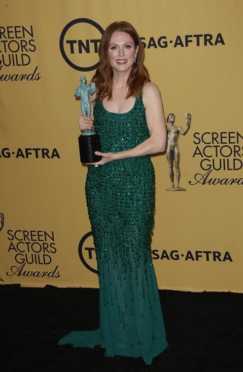 21st Screen Actors Guild Awards, Press Room, Los Angeles, America - 25 Jan 2015