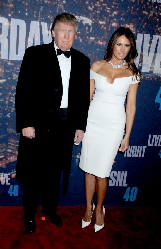 Donald si Melanie Trump - Viva! Alec Baldwin